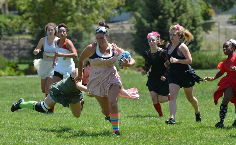 sou Women's Rugby Prom dress kristan gran