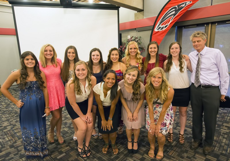 southern oregon university women's female girls soccer awards jon clement 2013 team 2012