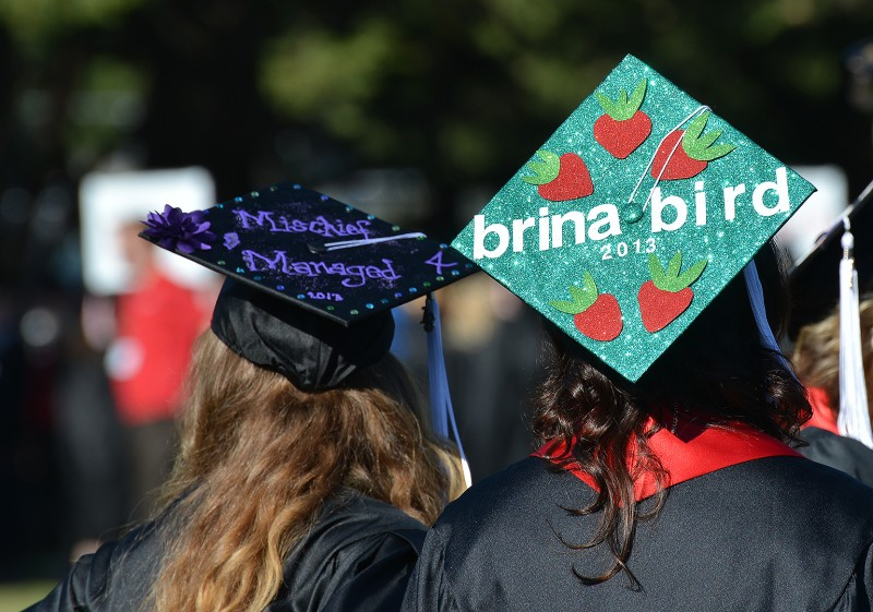 sou graduation commencement mischief managed brina bird