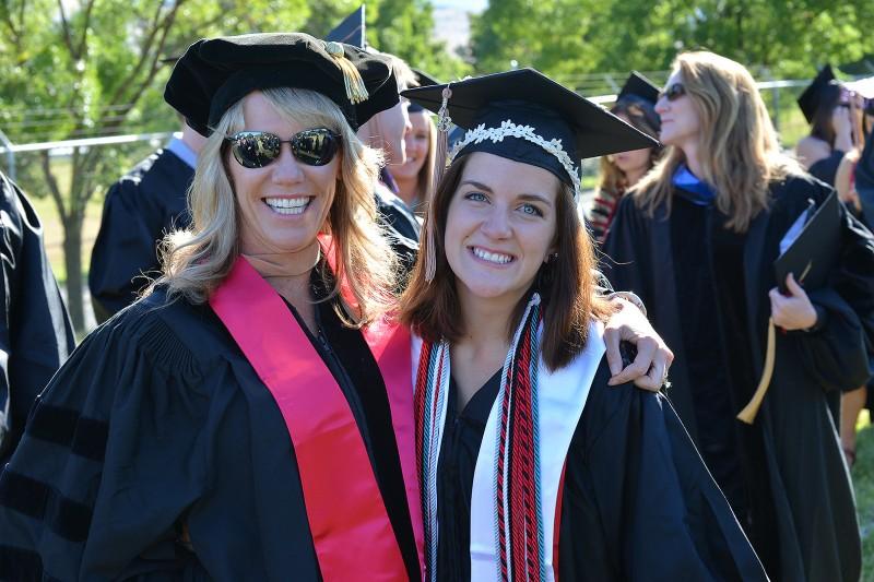 joan mcbee casey swanson sou graduation commencement