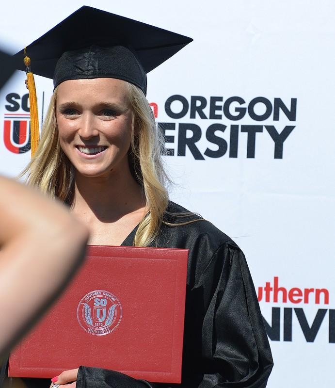 sarah holgen sou graduation commencement