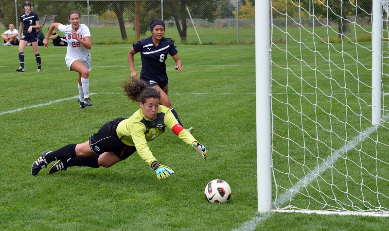 Rebekah Matteri SOU oregon tech soccer Megan McArthur