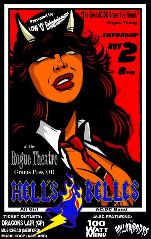 hells belles 100 watt mind rogue theatre grants pass oregon