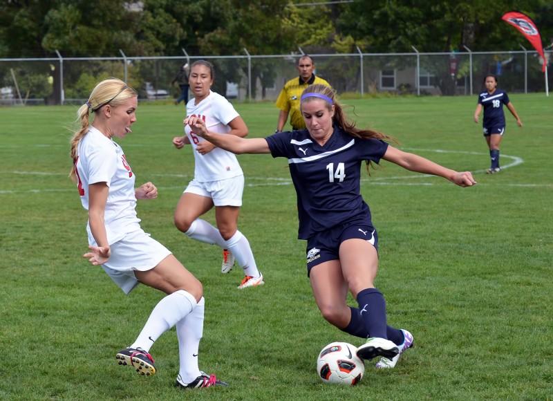 SOU soccer Alyssa Bricker