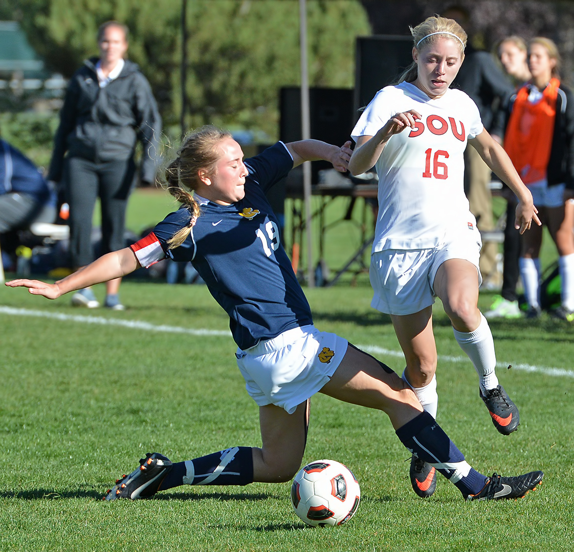 SOU Women's Soccer vs Northwest Julie Zamzow