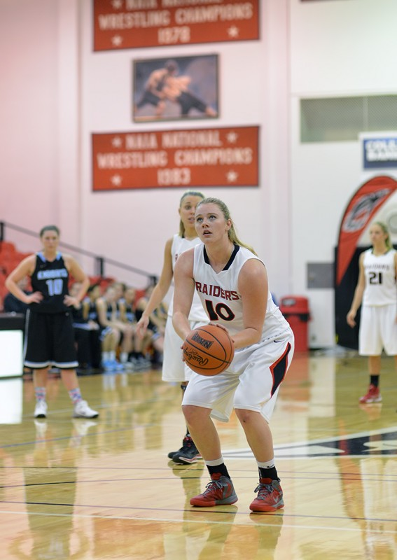 SOU Women's Basketball Allison Gida