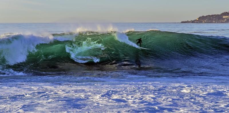 Carmel california surfing