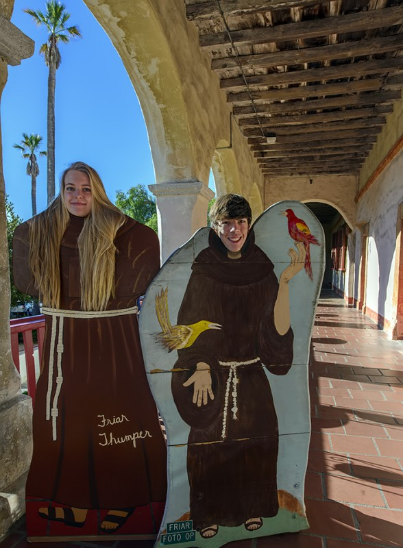 ryan ellie friars mission santa barbara