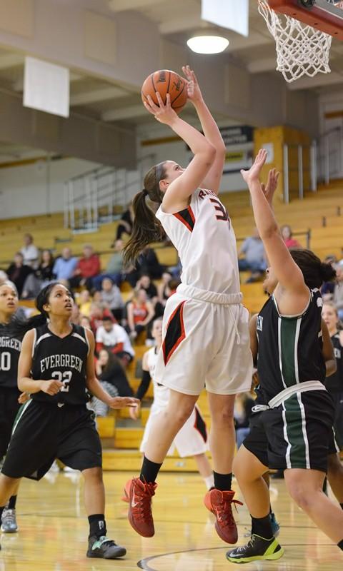SOU Women's Basketball Carly Meister