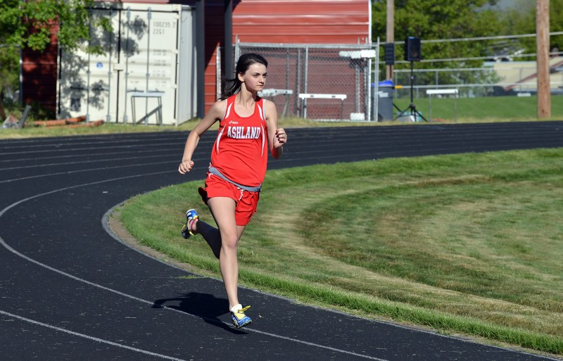 ashland high school track ellie stanek