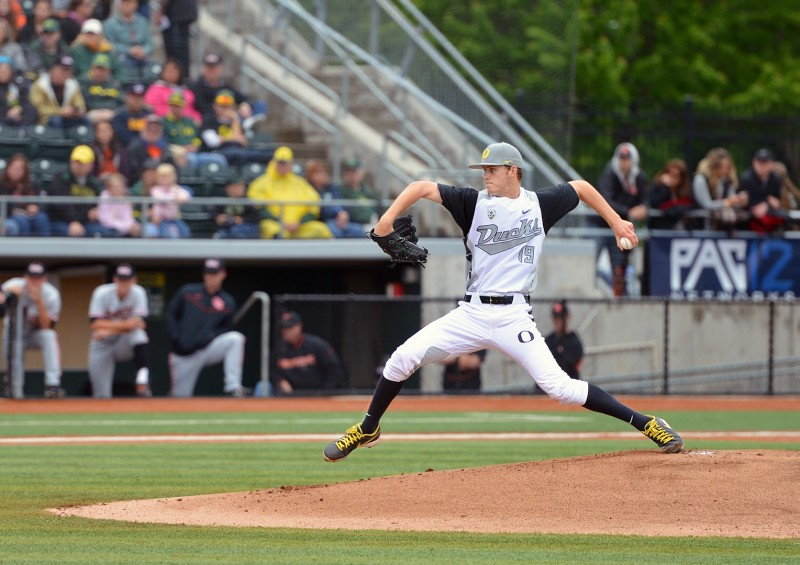 pitcher cole irvin oregon ducks baseball