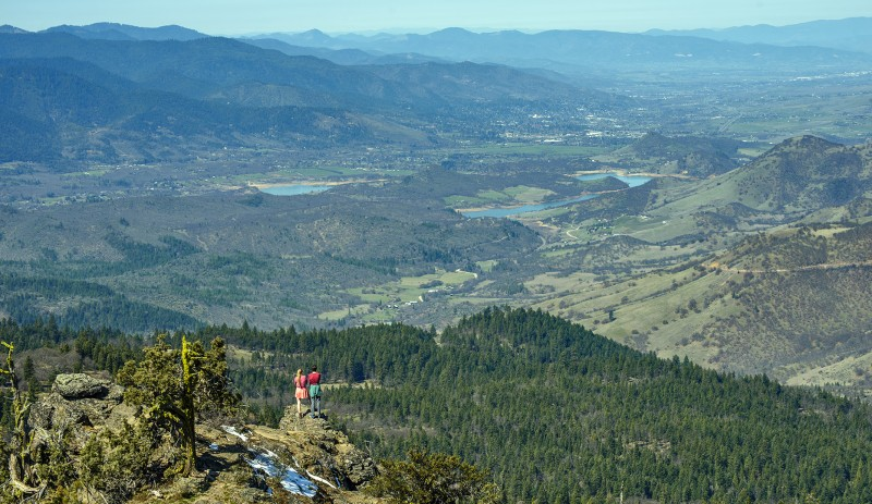 Ellie Ryan Hobart Peak southern oregon pct hiking pacific crest trail ashland oregon