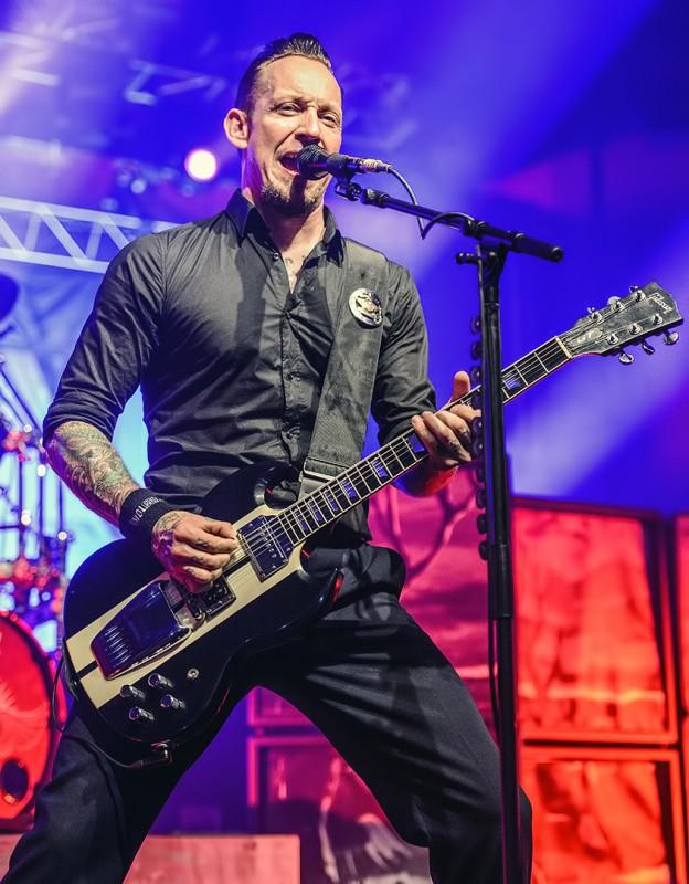Volbeat Medford Armory Michael Poulsen