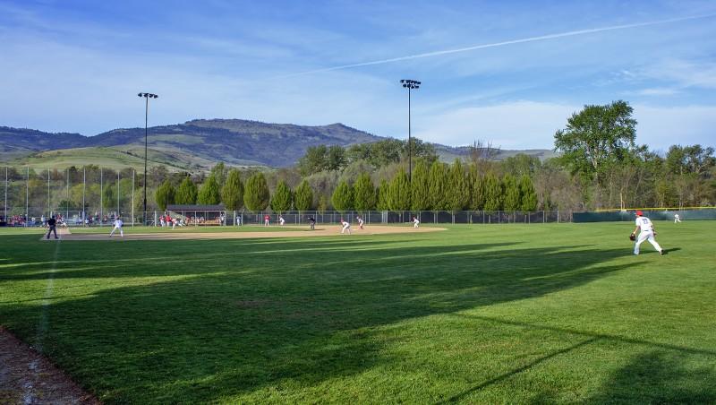 north mountain park ashland high school baseball foul pole