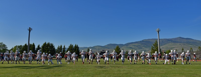 2014 Southern Oregon University Football Team photo roster raider stadium grizzly peak