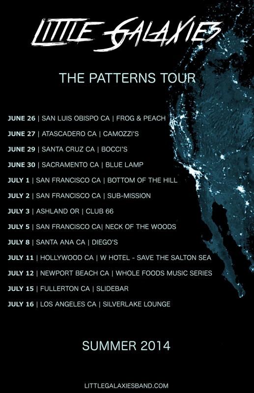 Little Galaxies - Summer 2014 Tour