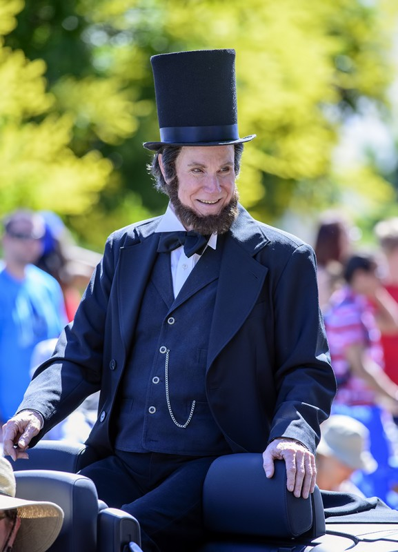 ashland 4th of july parade abe lincoln