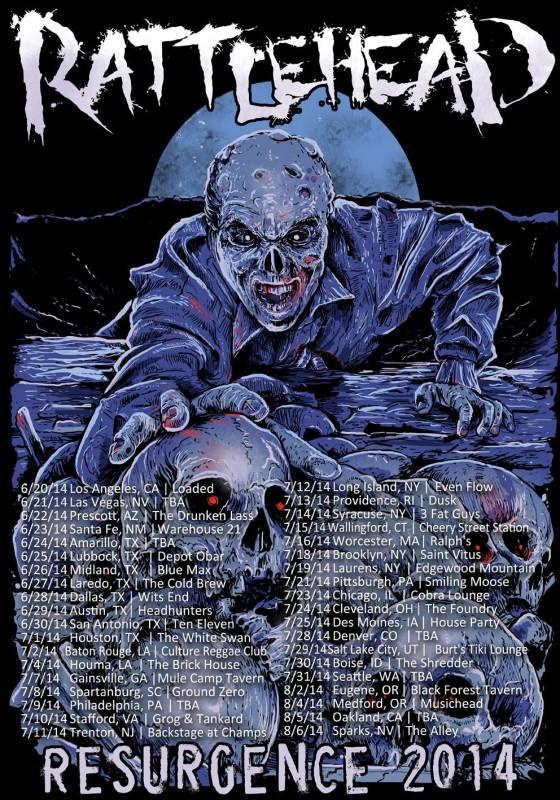 rattlehead resurgence tour 2014