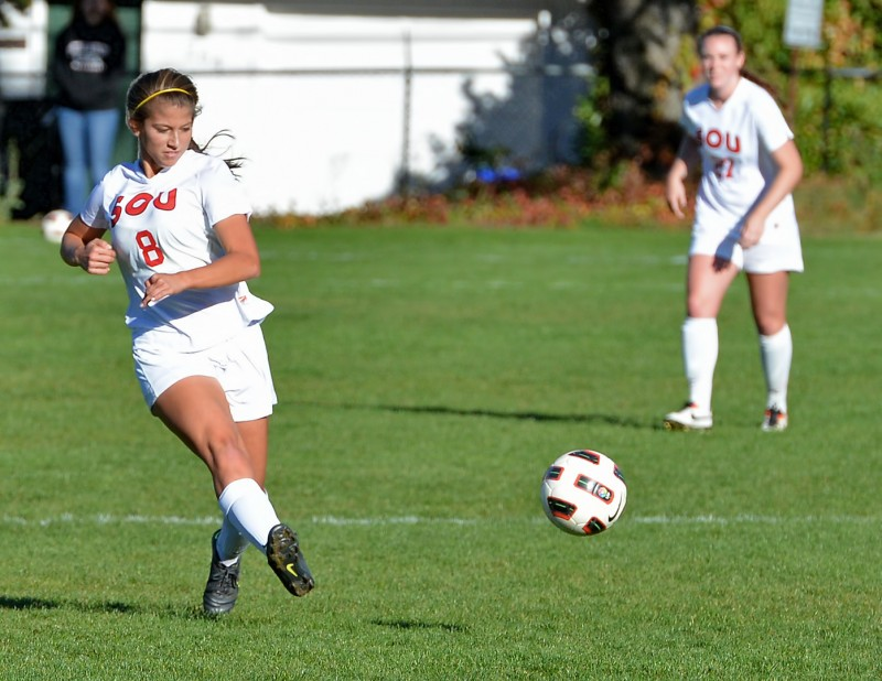 SOU Women's Soccer vs Northwest Lisa Elledge