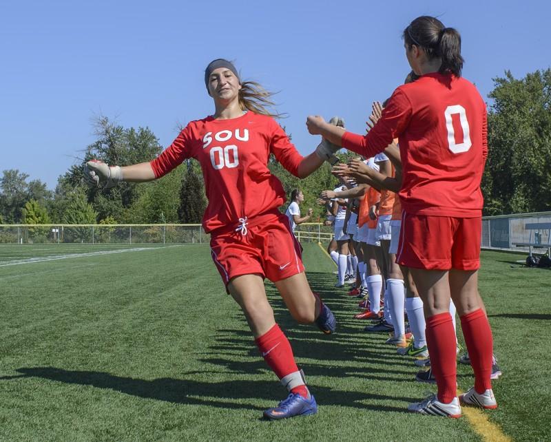 SOU Soccer The Masters Kylie Moltzen