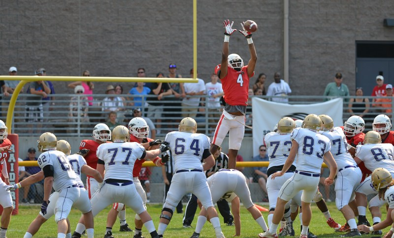 SOU football victor dean blocked field goal