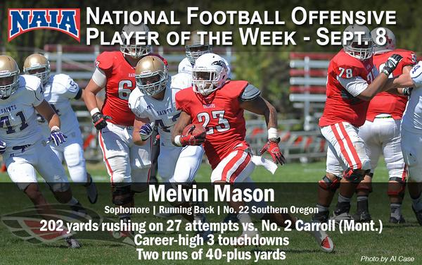 Melvin Mason - NAIA National Player of the Week