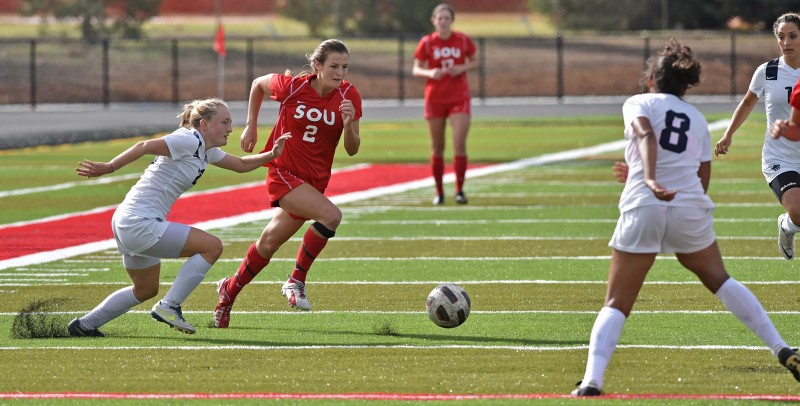 SOU Soccer Kelsey Randall