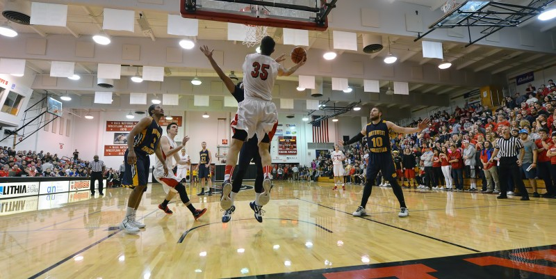 Tim Weber SOU Men's Basketball Eric Thompson