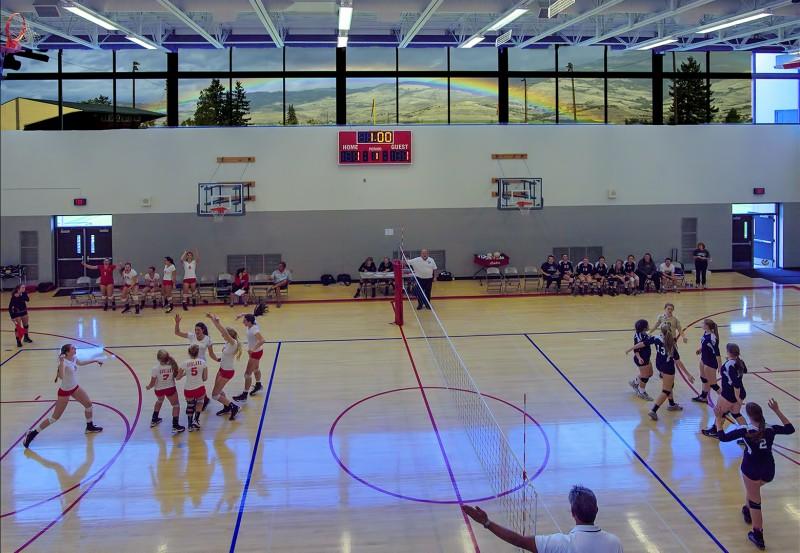 ahs volleyball rainbow