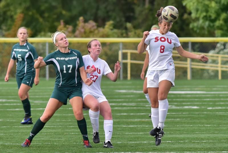 SOU soccer Lisa Elledge