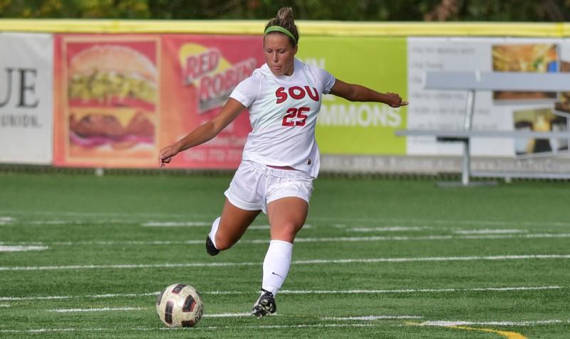 SOU soccer Paige Kilpatrick