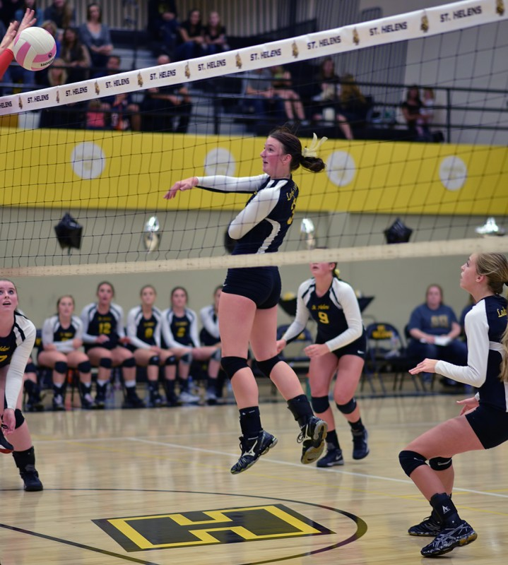 st helens volleyball Taylor Albertson middle