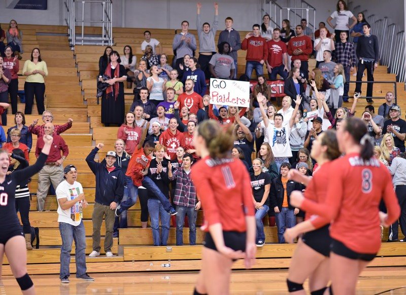 SOU volleyball team