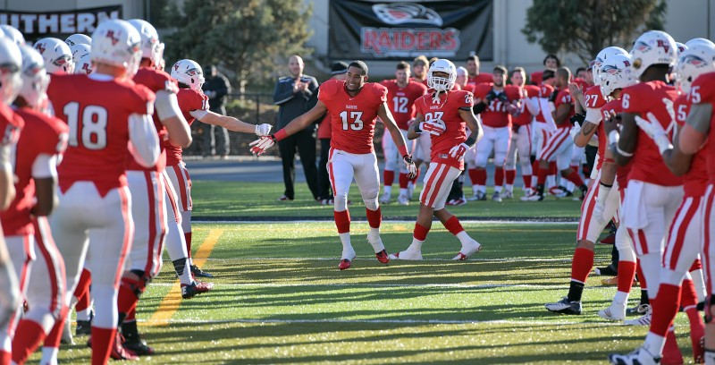 SOU football senior day Blakelyn Birks