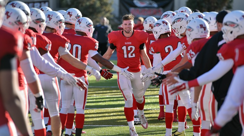 SOU football senior day Ryan Retzlaff