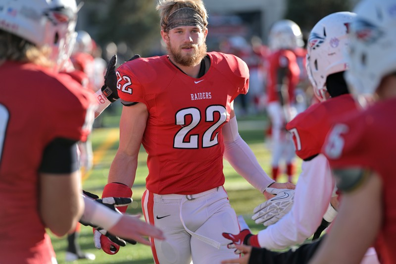 SOU football senior day Heston Altenbach