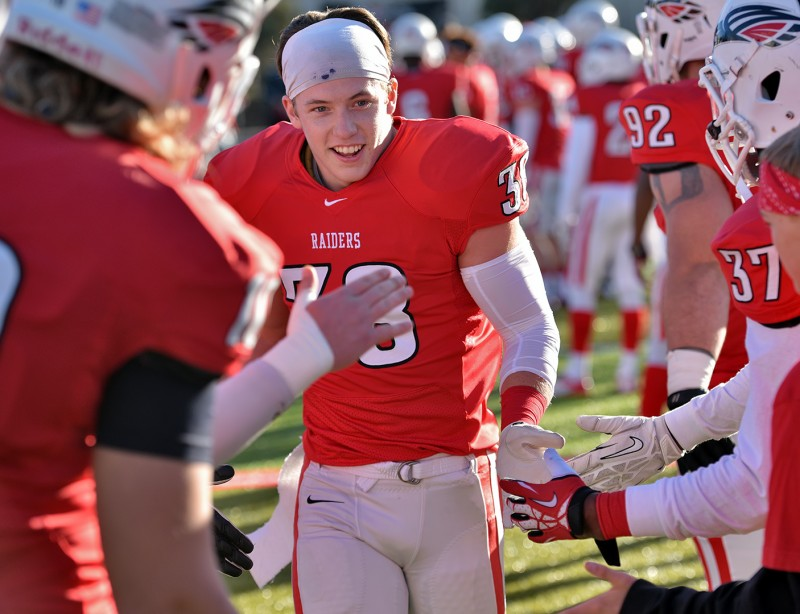 SOU football senior day Nick Tatom