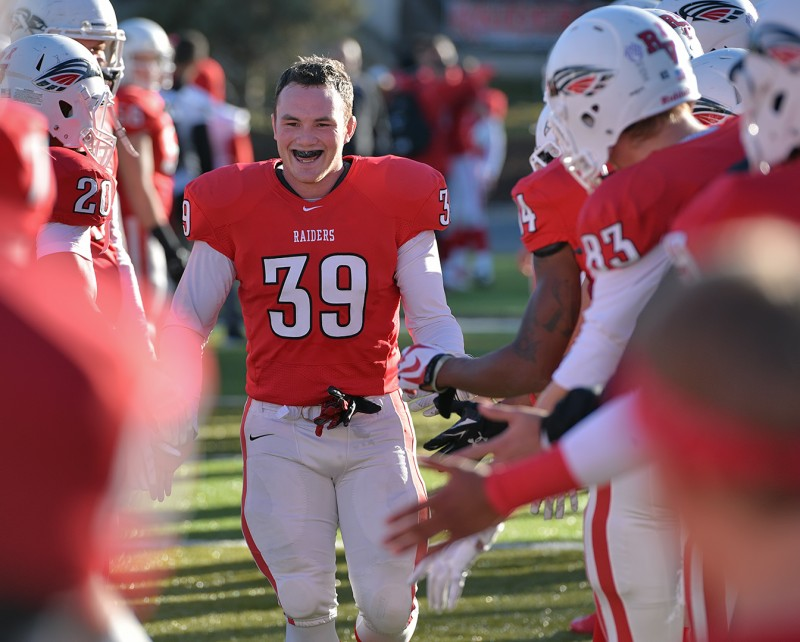 SOU football senior day Steven Josephson