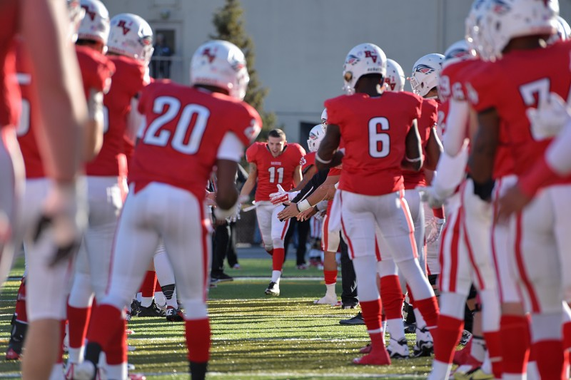 SOU football senior day dylan young