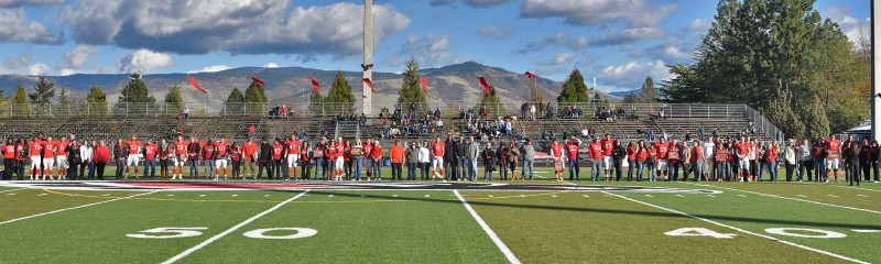 SOU football senior day panorama