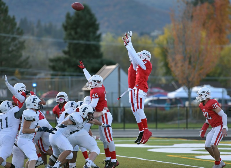 SOU football Alex Stork Karrington Jones