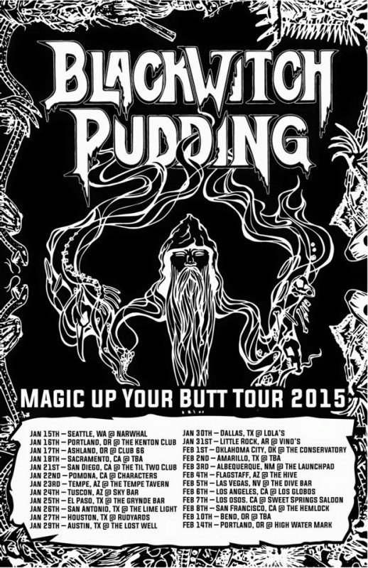 Blackwitch Pudding - Club 66 - 1/17/15