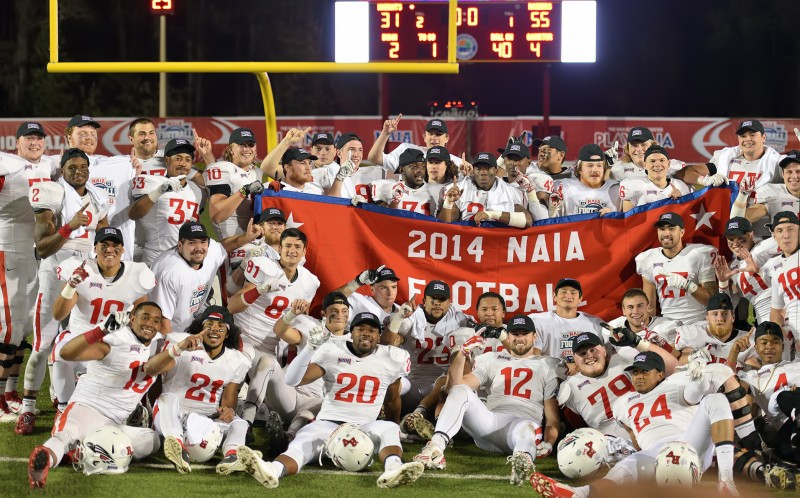 2014 sou football championship football team