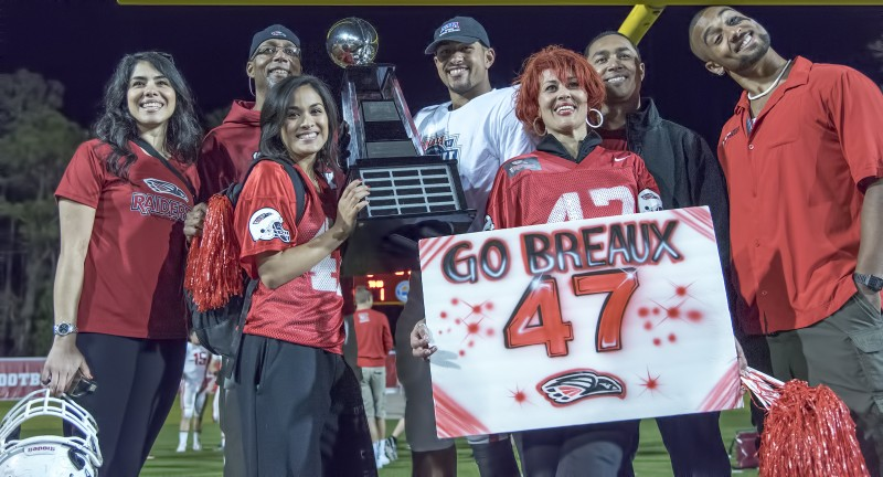 sou football daniel breaux family