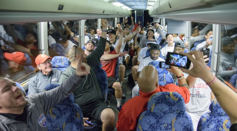 sou football daytona winning bus offense