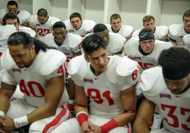 sou football daytona team locker room
