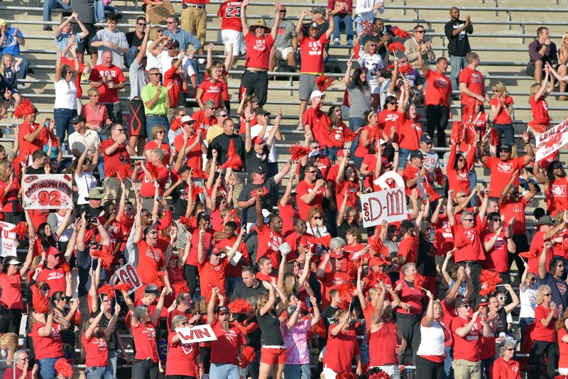 SOU football daytona crowd