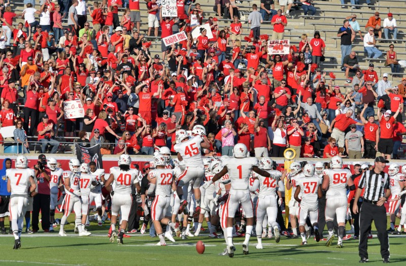 SOU football daytona alex stork crowd