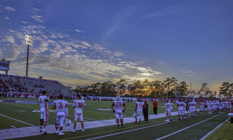 SOU football daytona florida sunset quarterbacks