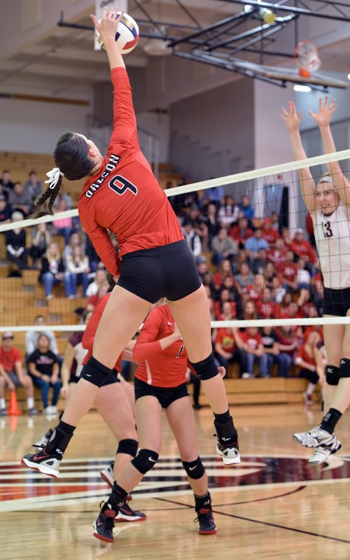 SOU volleyball Sam Boehnke